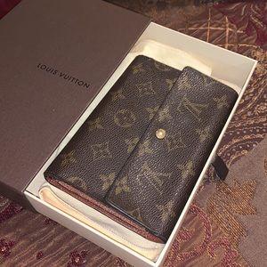 Authentic Louis Vuitton monogram wallet